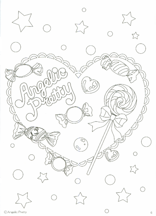 - The Angelic Pretty Coloring Book Coloring Books, Cute Coloring Pages,  Angelic Pretty