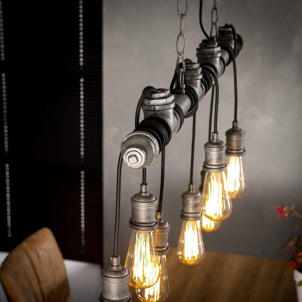 Onwijs De STAAL&CO Premium 7L Hangende Lampen Buis is een industriële DU-23