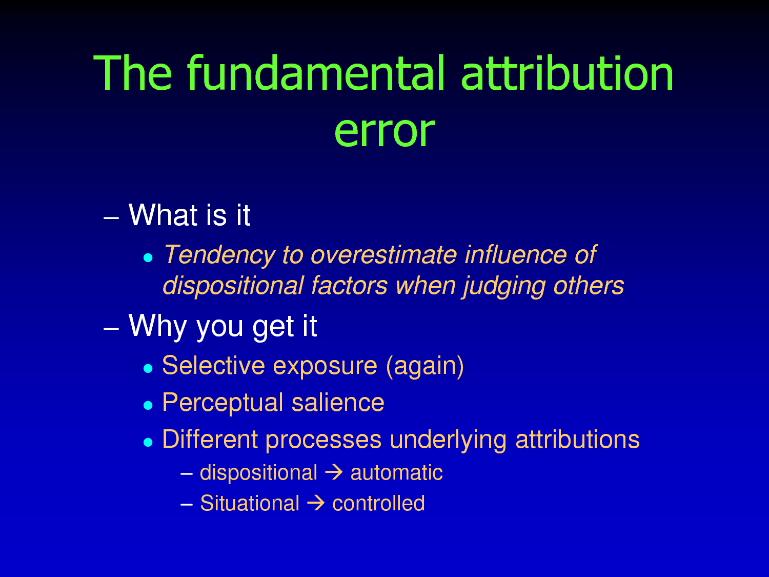fundamental attribution