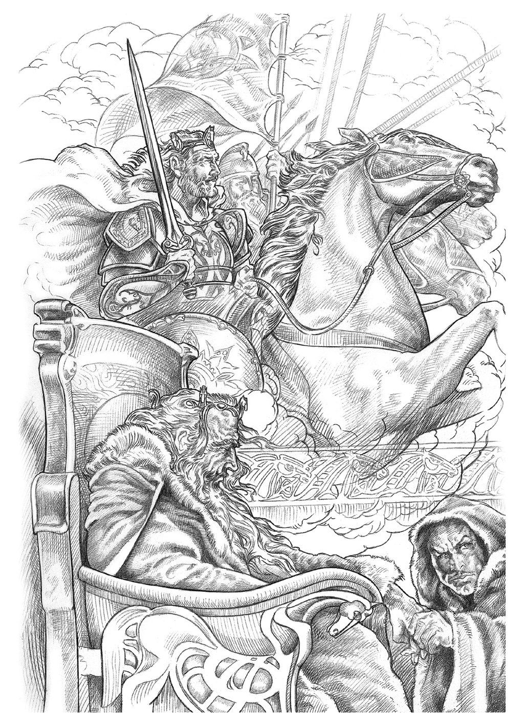 Theoden By Nachocastro On Deviantart Lord Of The Rings Tolkien Art Lotr Art