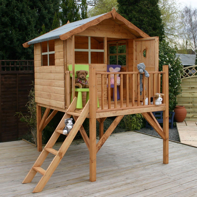 Деревянный домик для детей своими руками с фото