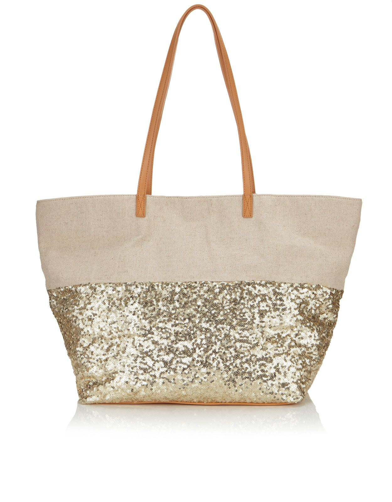 Sequin Beach Tote Bag $54 | Accessories | Pinterest | Beautiful ...