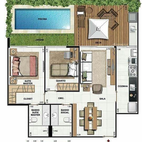 planos de casas pequenas y funcionales