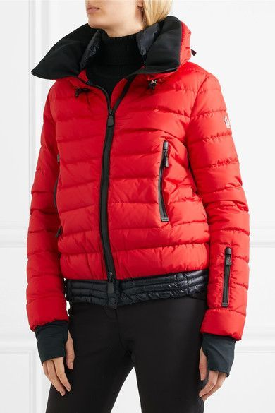 2d5f80e4263b Moncler Grenoble - Vonne Quilted Shell Down Jacket - Brick ...