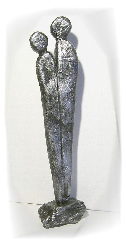Skulptur Modern kunstgalerie winkler moderne skulptur paar deco figur abstrakt