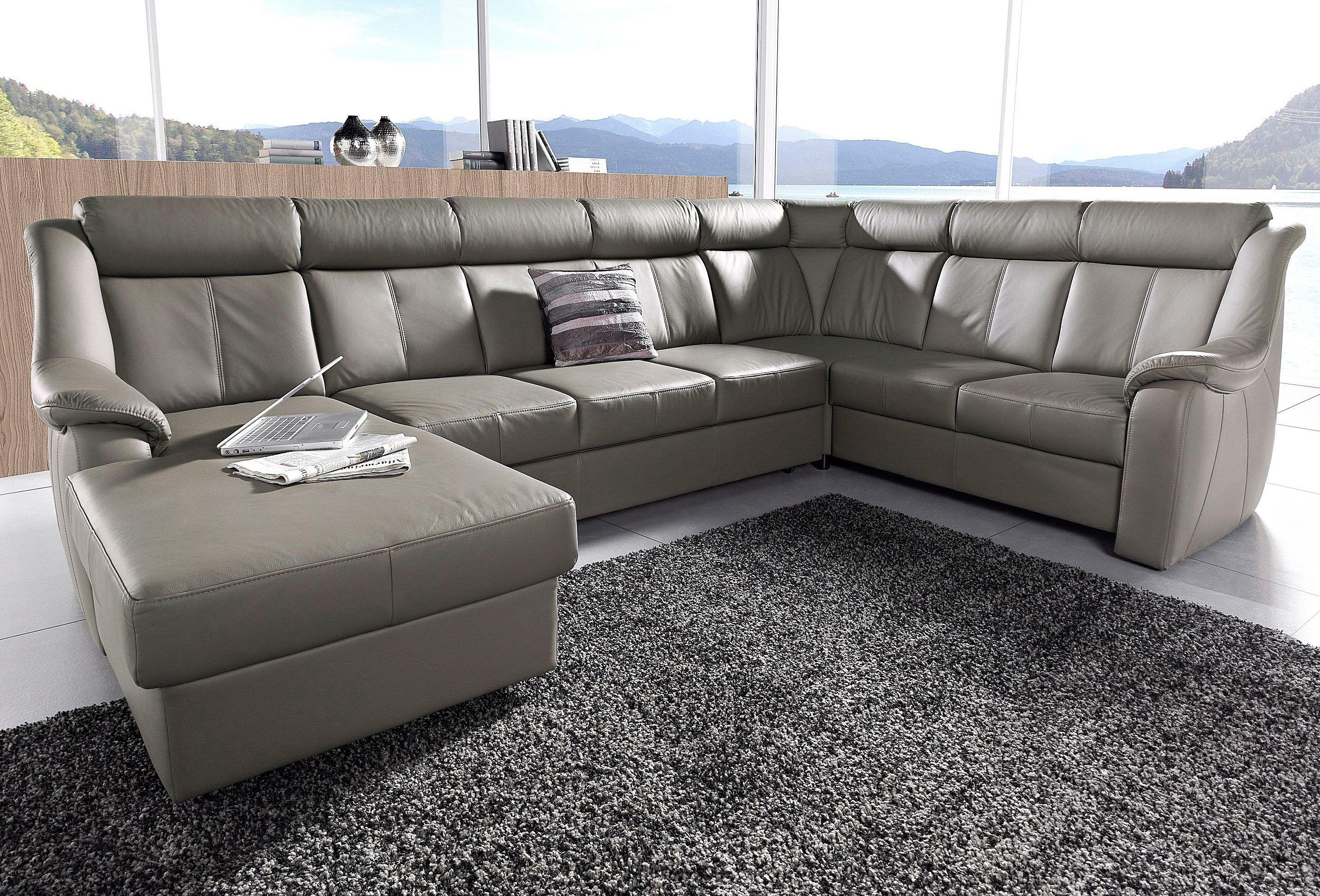 Bemerkenswert Sofa Mit Relaxfunktion Foto Von Wohnlandschaft Grau, Relaxfunktion, Recamiere Links, Fsc®-zertifiziert, Yourhome