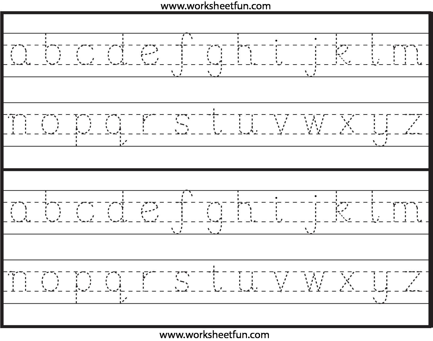 Nice Traceable Letters For Preschoolers Free That You Must