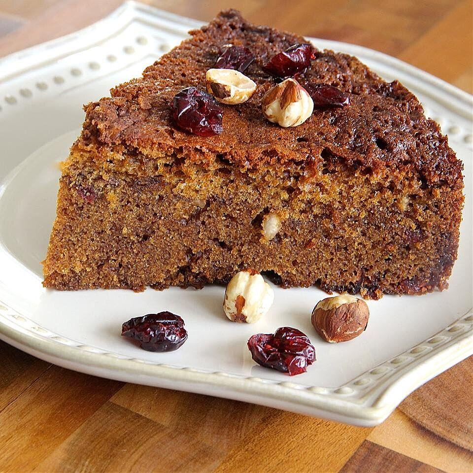 Cranberryhazelnut coffee cake in 2020 coffee cake