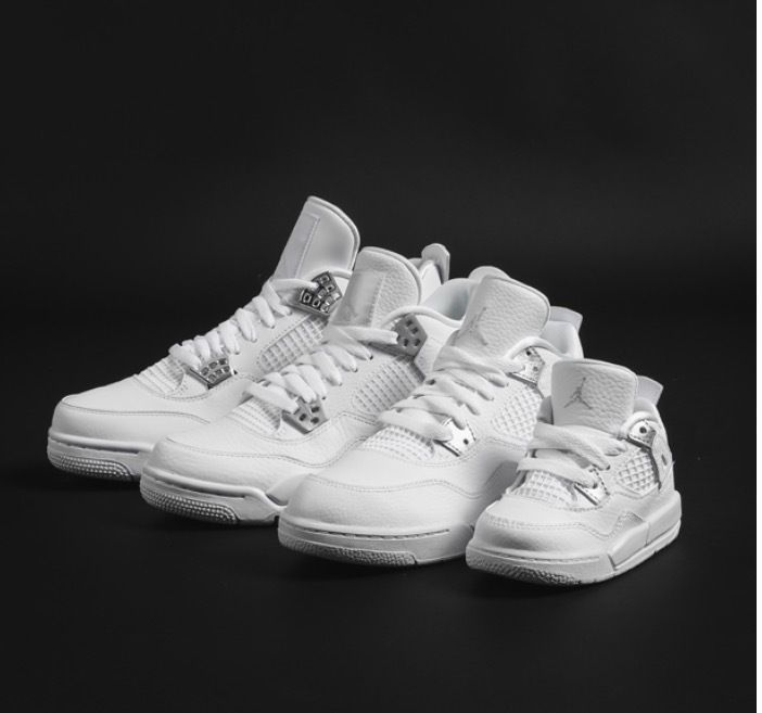 AIR JORDAN RETRO 4 PURE MONEY BABY TODDLER PRESCHOOL GRADE SCHOOL SIZE  4C-7Y #