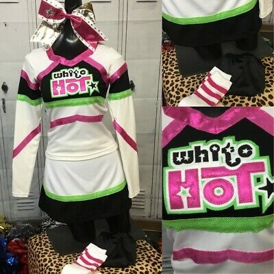 Details about Real Cheerleading Uniform Adult Sm Youth Xl #cheerleaderuniform