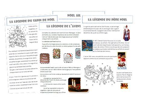 Lecture Documentaire Les Legendes Autour De Noel Texte Noel Lecture Noel