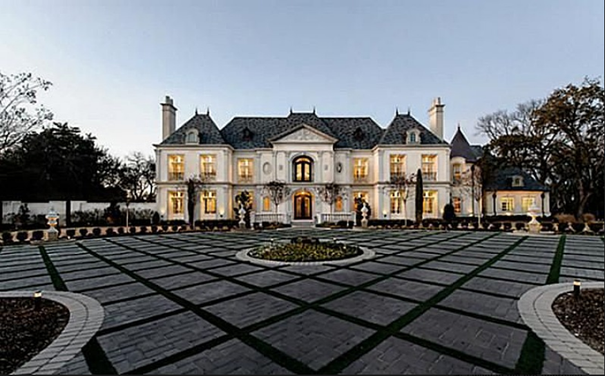French Chateau Style Mansion Dallas Texas Homes