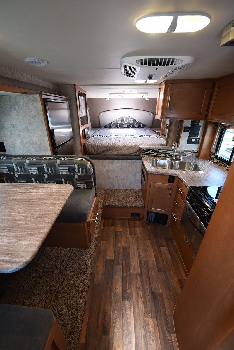 2017 Adventurer 89rbs Review Camper Interior Truck Camper