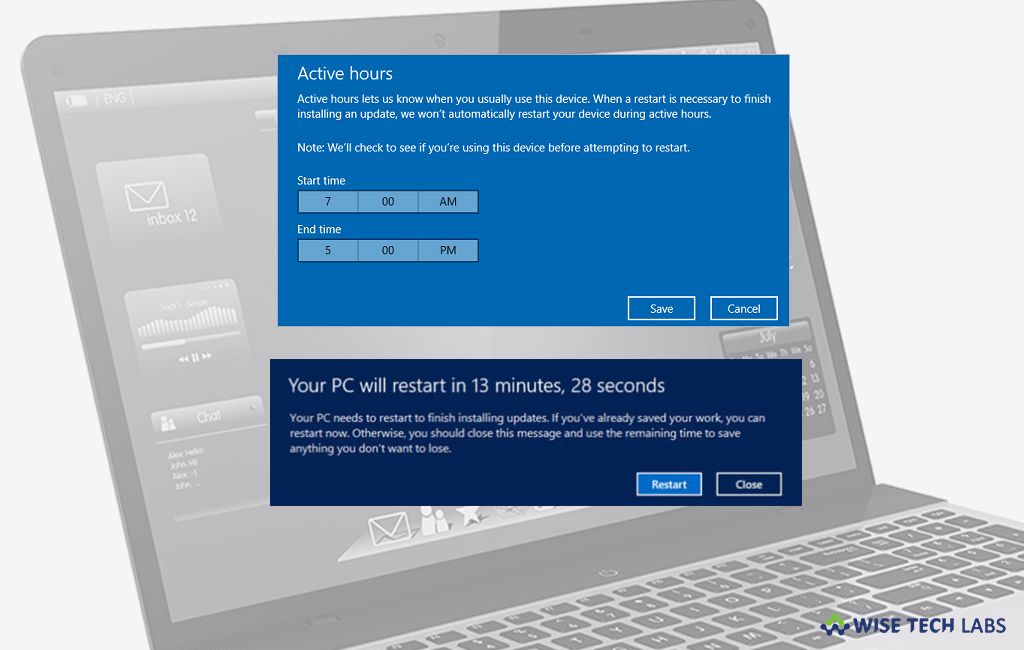 How To Set Auto Restart Deadline To Apply Update On Windows 10 Like Other Windows Versions When You Install A New Update On Your Wi Restart Windows 10 Things