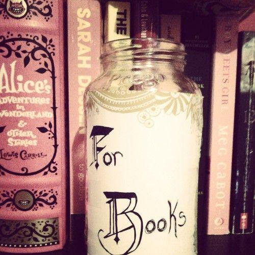 dreabearr13: Love my money jar! ♡ | My Books