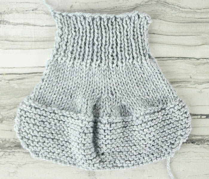 Flat Knit Booties Free Knitting Pattern | 3 | Pinterest | Bordado y ...
