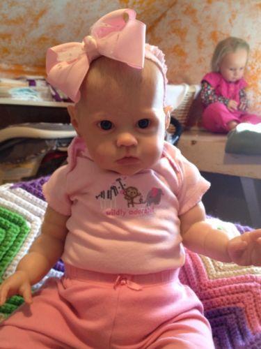 Reborn Baby Sharlamae By Bonnie Brown Lifelike Baby