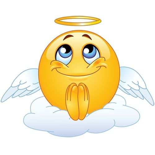 Smileys App With 1000 Smileys For Facebook Whatsapp Or Any Other Messenger Angel Emoticon Emoji Images Emoticon Faces