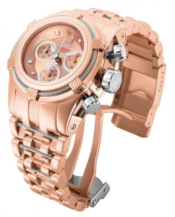 Invicta 14610 Jason Taylor Reserve Rose Gold Chronograph Women s Watch   Invicta  LuxurySportStyles 0dff631349