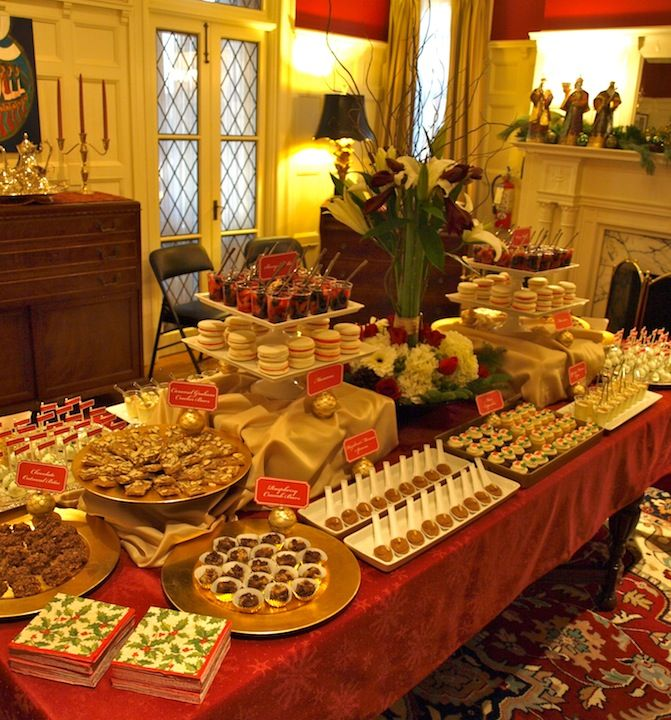 Holiday Dessert Table …