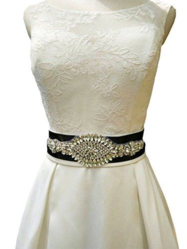 Lemandy Handmade Crystal Bridal Sash Belts Wedding Dress Https Www