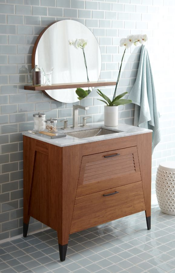 Native Trails Trinidad Vanity In Bamboo Comes In 36 Or 24