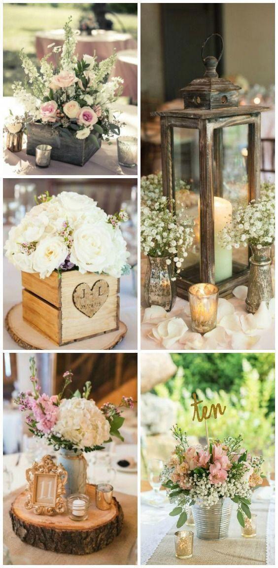 10 Rustic Wedding Centerpieces Ideas You Will Adore