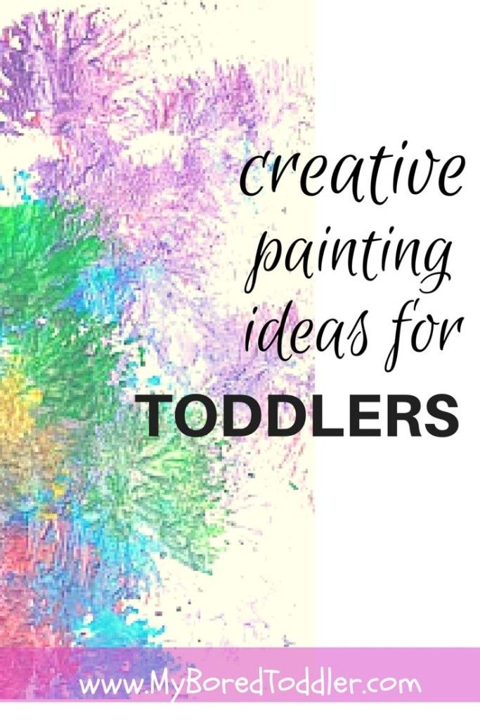 more toddler painting ideas   paintings and activities