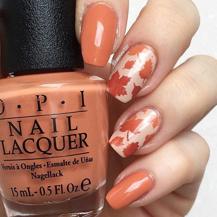 90 Fall Nails Art Designs To Get Your Autumn 2017 | OPI, Nail ...