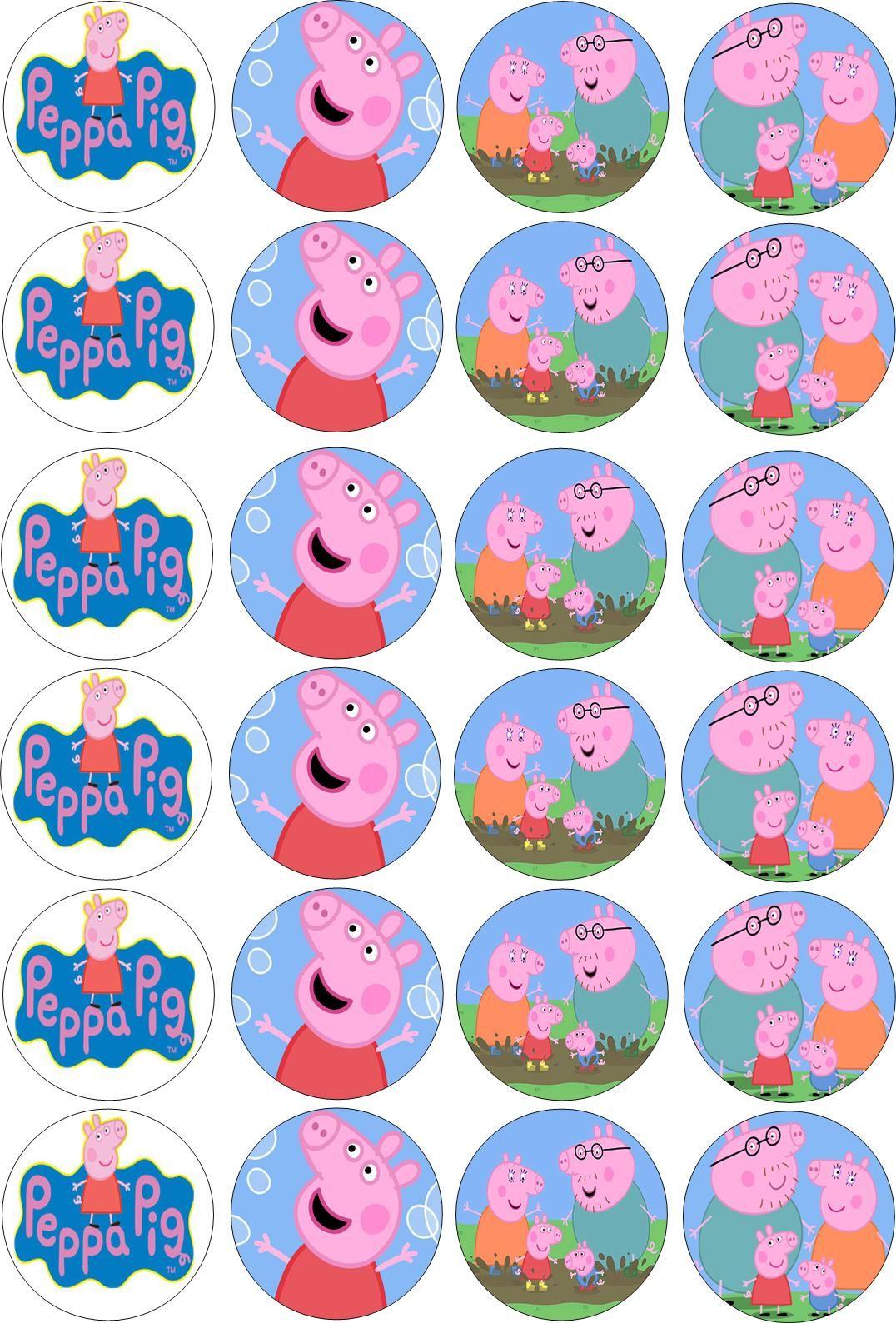 peppa pig lembrancinhas para festa da peppa pig scrapfesta mesa