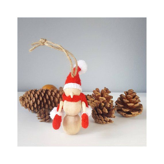 This Santa Snowman Ornament For Christmas Trees is One Of ...