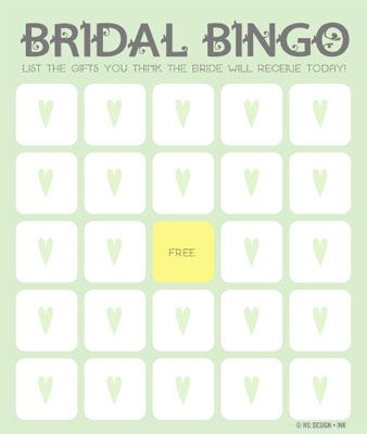 how to get free printable bridal showers bingo cards bridal shower bingo from the things hannah loves