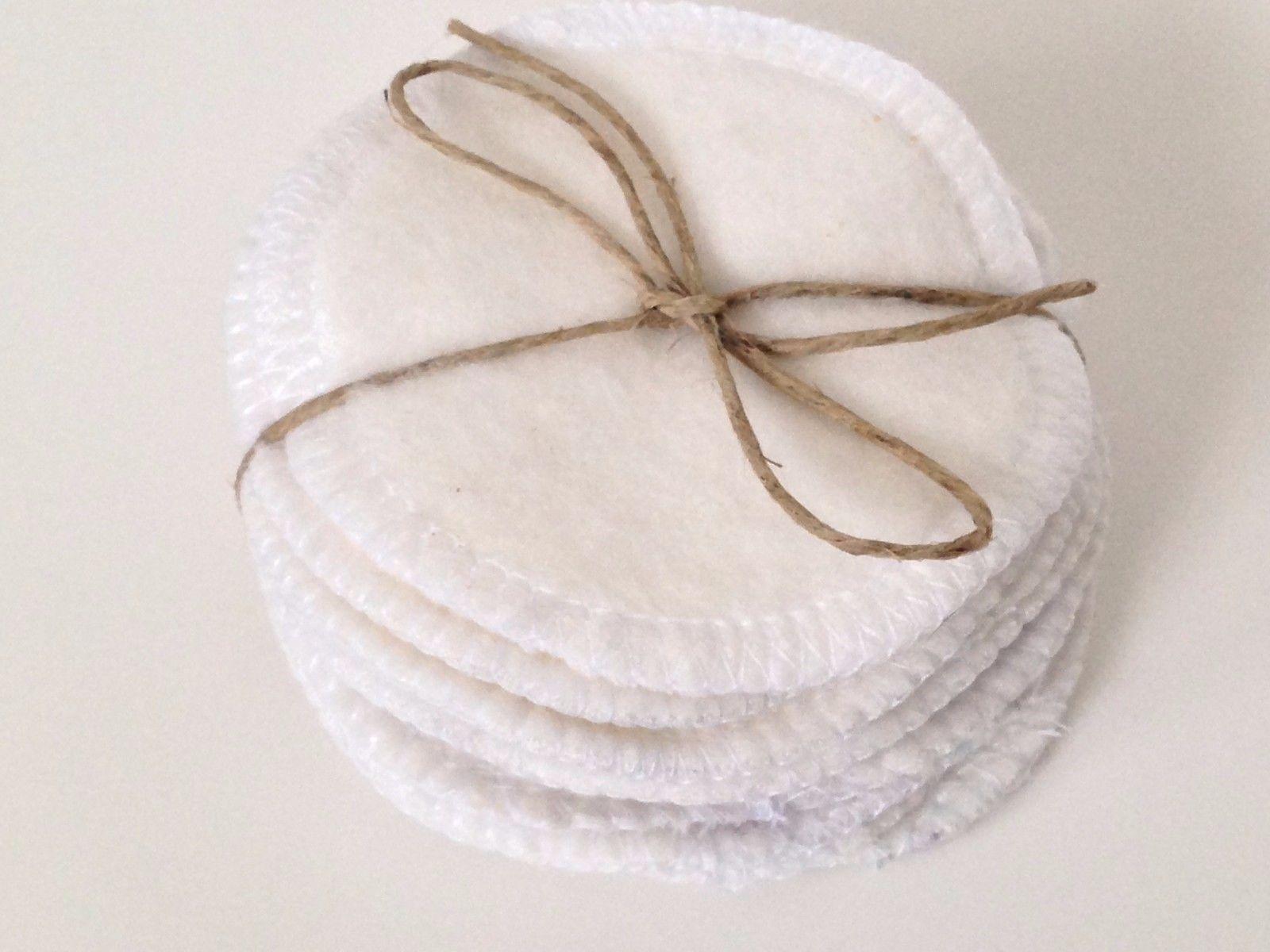 Reusable Organic Cotton Rounds Toner Pads Facial Rounds