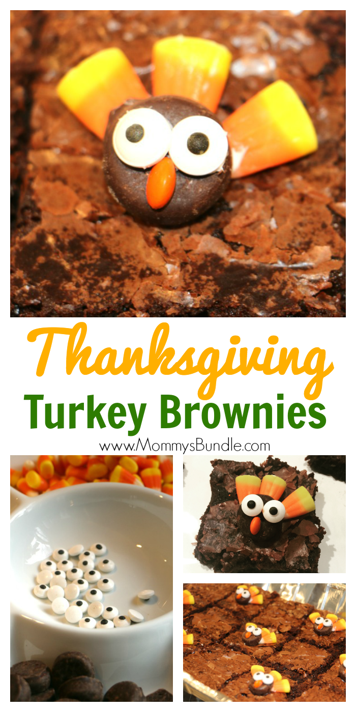 Turkey Brownies Adorably Easy Thanksgiving Dessert Mommy S Bundle Thanksgiving Desserts Easy Thanksgiving Desserts Kids Easy Thanksgiving Dessert Recipes