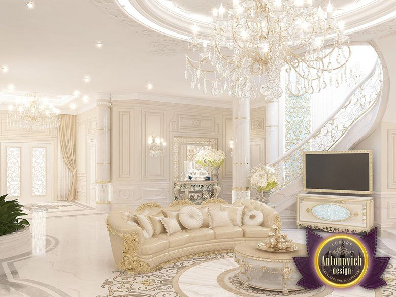 Best interior design ideas from luxury antonovich design for Villa interior design living room
