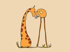 """""""kärlek är väldigt lätt ;)"""" apar"""