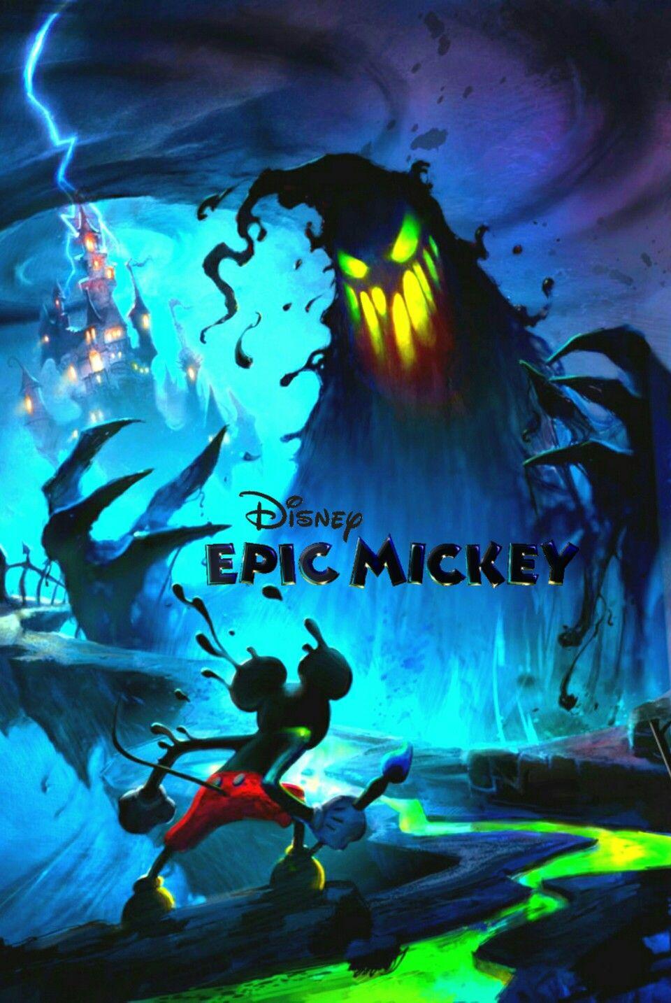 Disney Epic Mickey poster   Poster Collection   Pinterest   Videojuegos