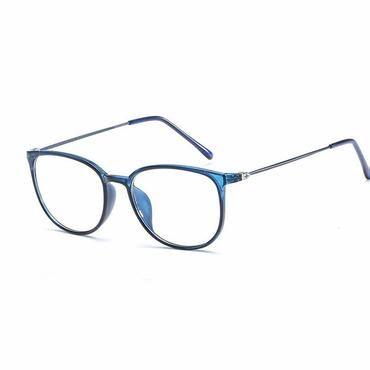 3dc18d37452 New Arrival Fashion Harajuku Retro Round Glasses Frame Women Myopia Metal Eyeglasses  Optical Prescription Lens Plain Mirror