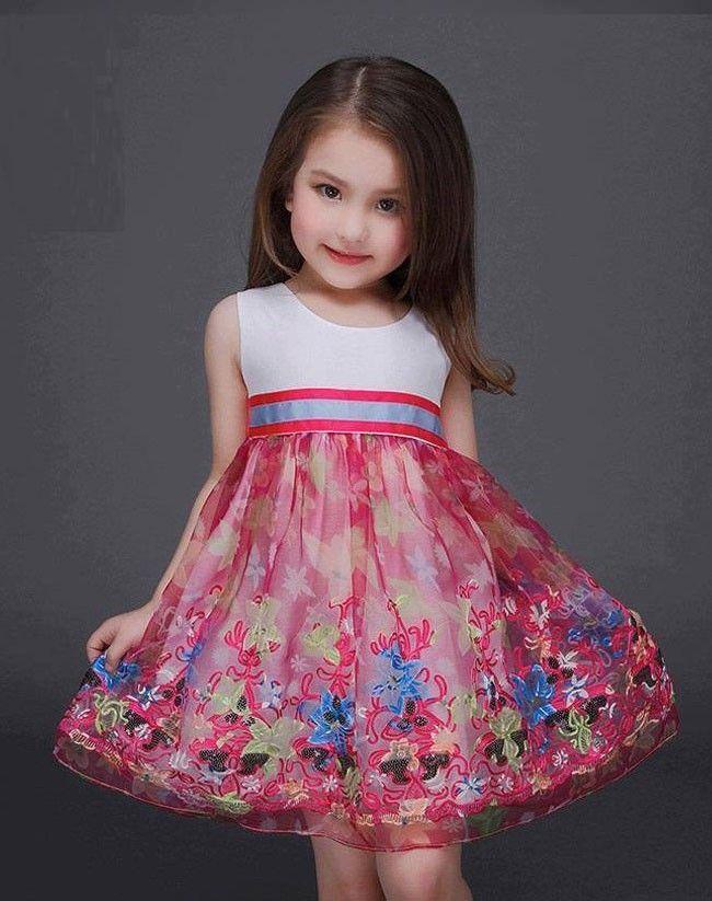 Vestidos florales para una princesa en primavera | Pinterest ...