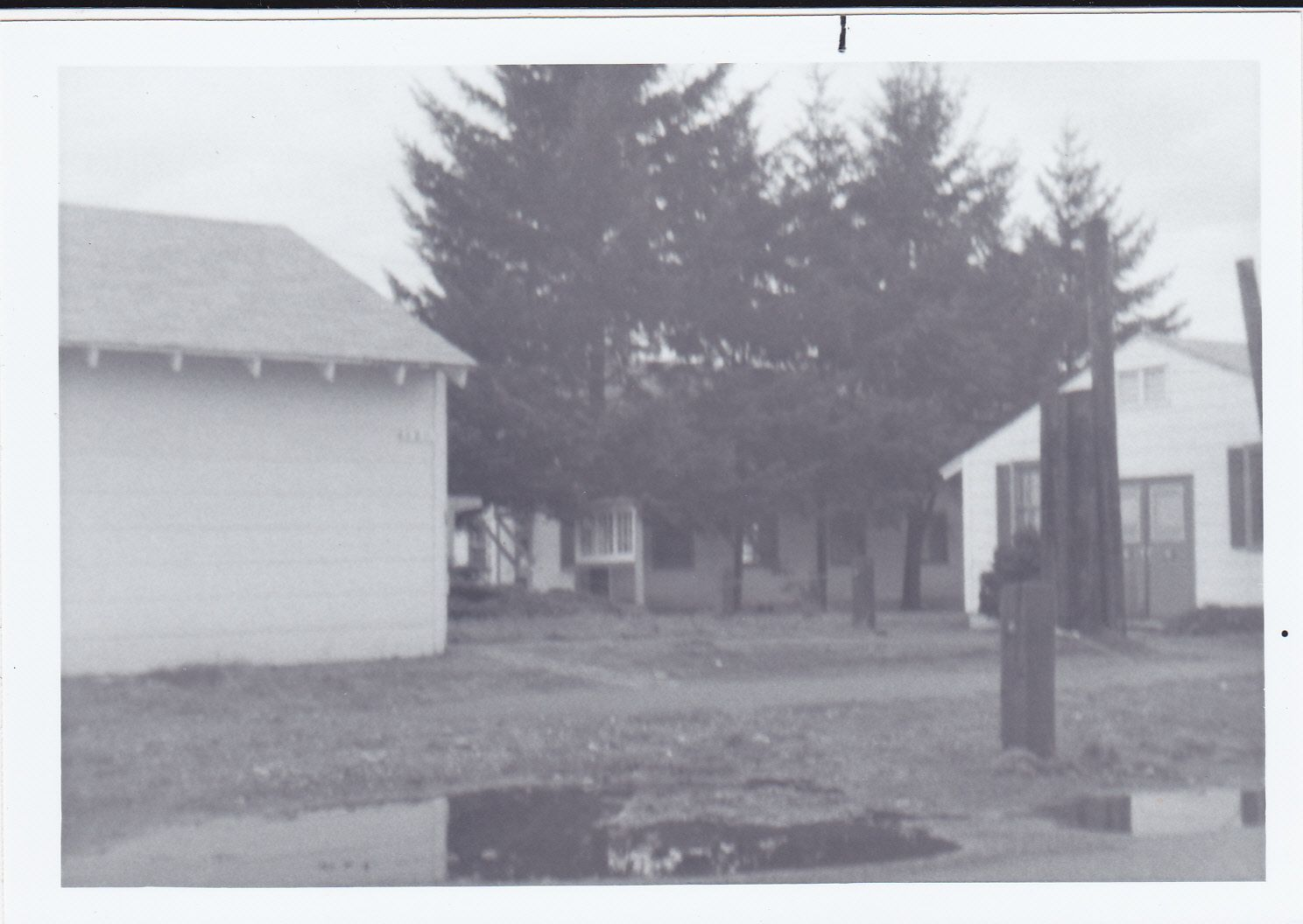signal corps guide on us army signal corps basic training aug 1968 b 5 1 the barracks behind the trees