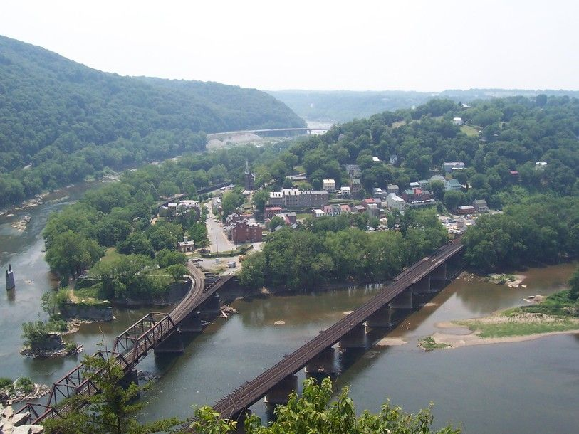 Harpers Ferry, WV. This is the site of John Brown's 1859 ...