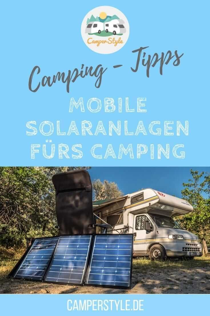 mobile solaranlagen f rs camping camping tipps gadgets. Black Bedroom Furniture Sets. Home Design Ideas