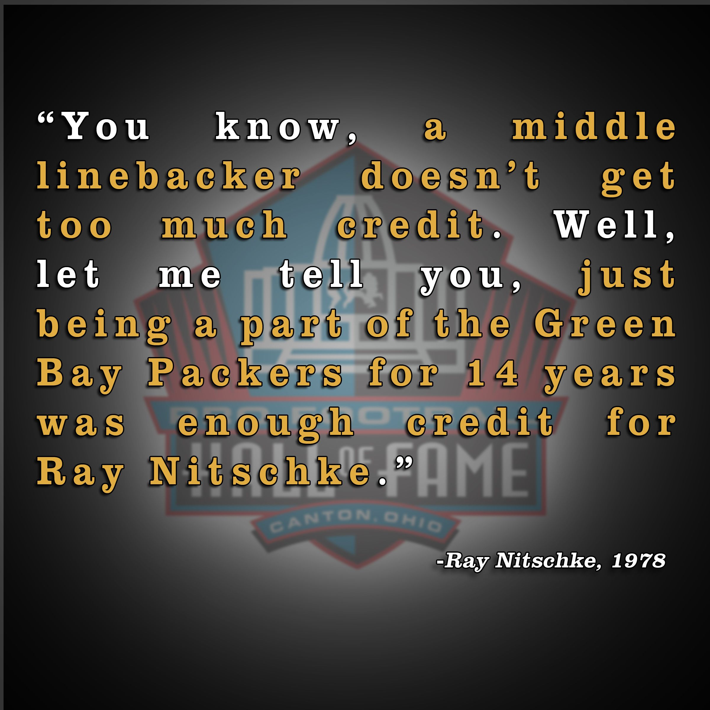 Pin By Pro Football Hall Of Fame On Quotable Green Bay Packers Green Bay Packers Vintage Green Bay Packers Fans