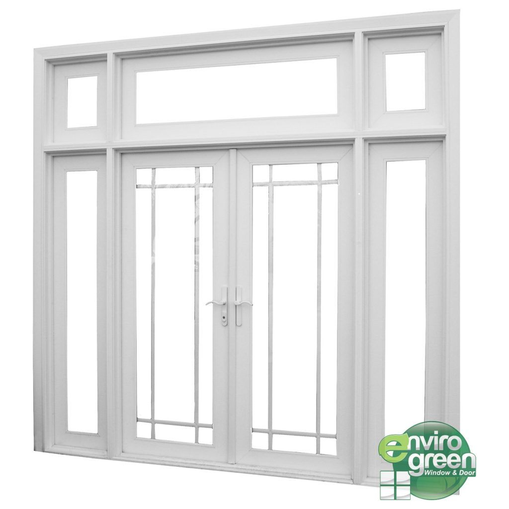 Interior French Doors With Sidelights And Transom Modelos De