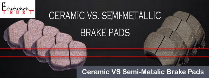 There Are Four Kinds Of Brakes Pads Which Are Organic Ceramic Semi Metallic And Metallic Available In The Marke Brake Pads Ceramic Brake Pads Ceramic Brakes