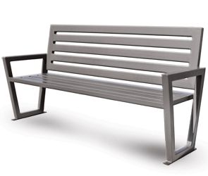 Decora Style Modern Outdoor Bench With