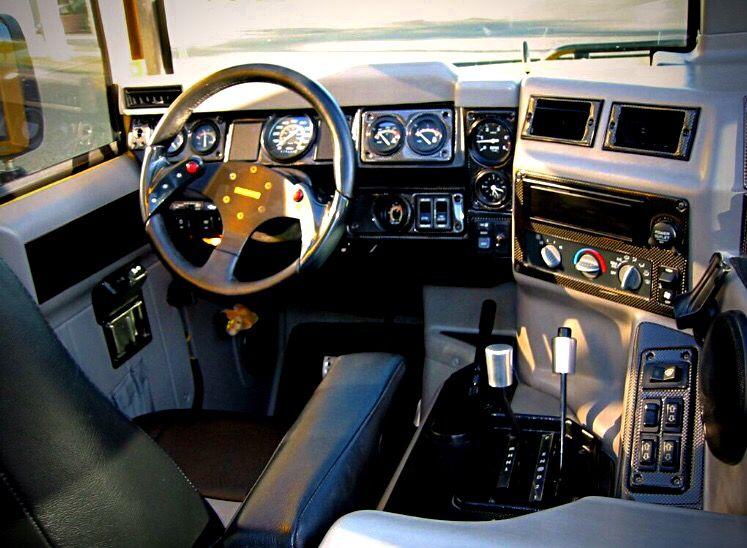 Raul S Hummer H1 Interior Hummer H1 Hummer Flying Car