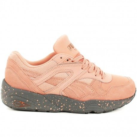 Basket Puma Trinomic R698 Winterized Rose et Gris | Closet