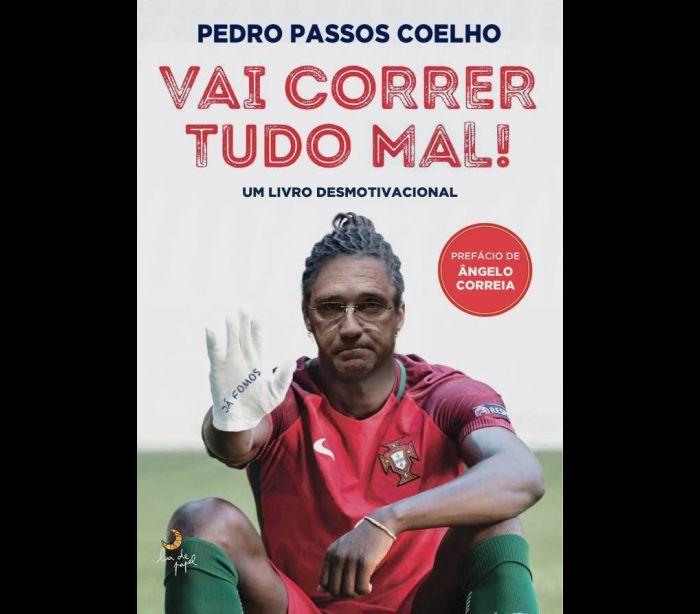 """""""Um livro desmotivacional de Passos Coelho"""""""