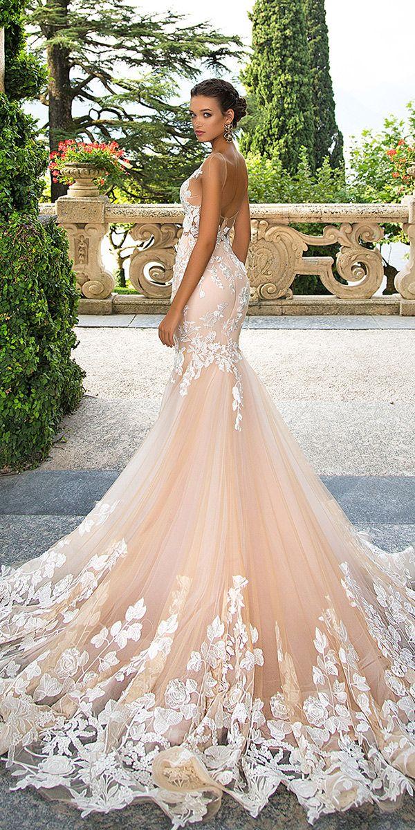 Collection 2017 milla nova wedding dresses wedding for Gold vintage wedding dresses